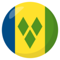 St. Vincent & Grenadines on EmojiOne 3.1