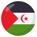 Western Sahara on EmojiOne 3.1