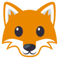 Fox Face on EmojiOne 3.1