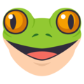 Frog Face on EmojiOne 3.1