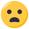 Frowning Face With Open Mouth on EmojiOne 3.1