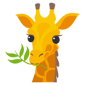Giraffe on EmojiOne 3.1