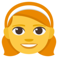 Girl on EmojiOne 3.1