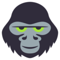 Gorilla on EmojiOne 3.1