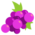 Grapes on EmojiOne 3.1