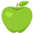 Green Apple on EmojiOne 3.1