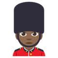 Guard: Medium-Dark Skin Tone on EmojiOne 3.1