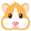 Hamster Face on EmojiOne 3.1