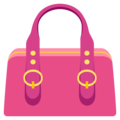 Handbag on EmojiOne 3.1
