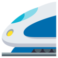 High-Speed Train on EmojiOne 3.1