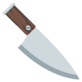 Kitchen Knife on EmojiOne 3.1