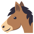 Horse Face on EmojiOne 3.1