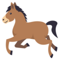 Horse on EmojiOne 3.1