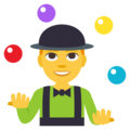 Person Juggling on EmojiOne 3.1