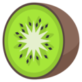 Kiwi Fruit on EmojiOne 3.1