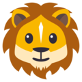 Lion Face on EmojiOne 3.1