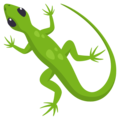 Lizard on EmojiOne 3.1