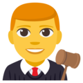Man Judge on EmojiOne 3.1