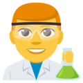 Man Scientist on EmojiOne 3.1