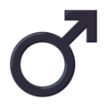 Male Sign on EmojiOne 3.1