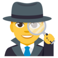 Man Detective on EmojiOne 3.1
