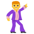 Man Dancing on EmojiOne 3.1