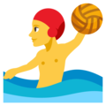 Man Playing Water Polo on EmojiOne 3.1
