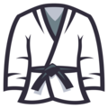 Martial Arts Uniform on EmojiOne 3.1