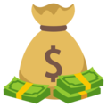 Money Bag on EmojiOne 3.1