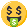 Money-Mouth Face on EmojiOne 3.1
