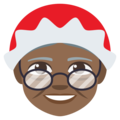 Mrs. Claus: Medium-Dark Skin Tone on EmojiOne 3.1