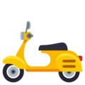 Motor Scooter on EmojiOne 3.1