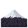 Mount Fuji on EmojiOne 3.1