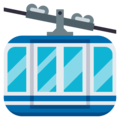 Mountain Cableway on EmojiOne 3.1