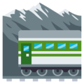 Mountain Railway on EmojiOne 3.1