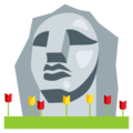 Moai on EmojiOne 3.1