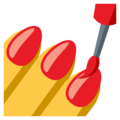 Nail Polish on EmojiOne 3.1