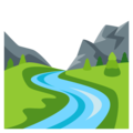 Image result for river emoji