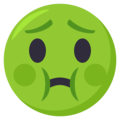 Nauseated Face on EmojiOne 3.1