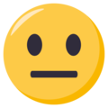 Neutral Face on EmojiOne 3.1