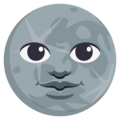 New Moon Face on EmojiOne 3.1