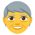 Older Adult on EmojiOne 3.1