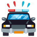 Oncoming Police Car on EmojiOne 3.1