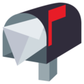 Open Mailbox With Raised Flag on EmojiOne 3.1