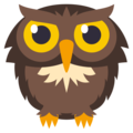 Owl on EmojiOne 3.1