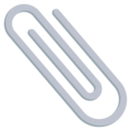 Paperclip on EmojiOne 3.1