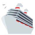 Passenger Ship on EmojiOne 3.1
