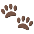 Paw Prints on EmojiOne 3.1