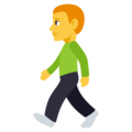 Person Walking on EmojiOne 3.1