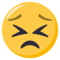 Persevering Face on EmojiOne 3.1